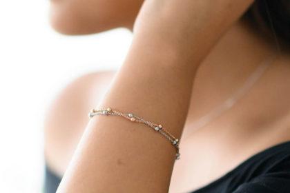 Armband Rosegold Materia Schmuck